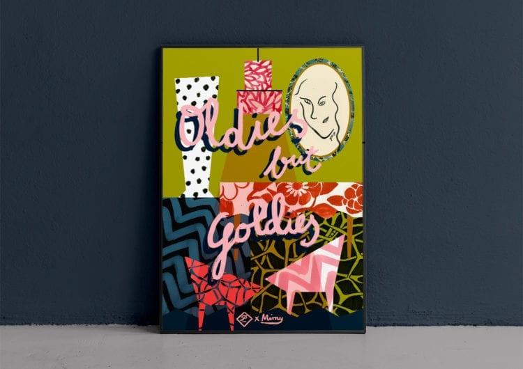 Limitowana seria plakatów Julii Mirny wyprodukowana przez Patyna.pl jest już dostępna
