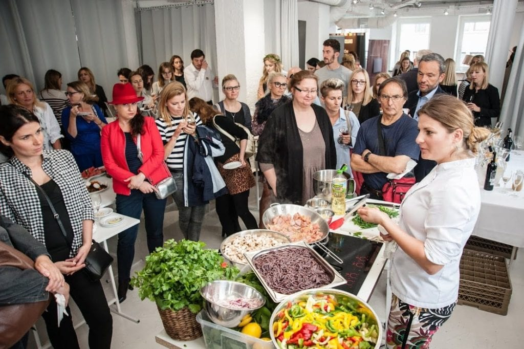 Katering podczas 12 edycji OKK! Design w Warszawie