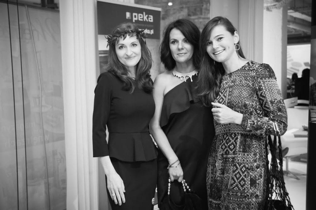 Olga Kisiel-Konopko i Krystyna Łuczak-Surówka podczas 12 edycji OKK! Design w Warszawie