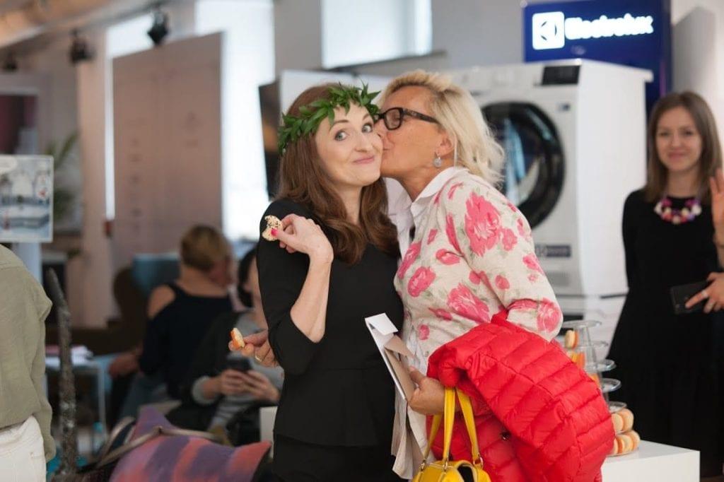 Olga Kisiel Konopko podczas 12 edycji OKK! Design w Warszawie