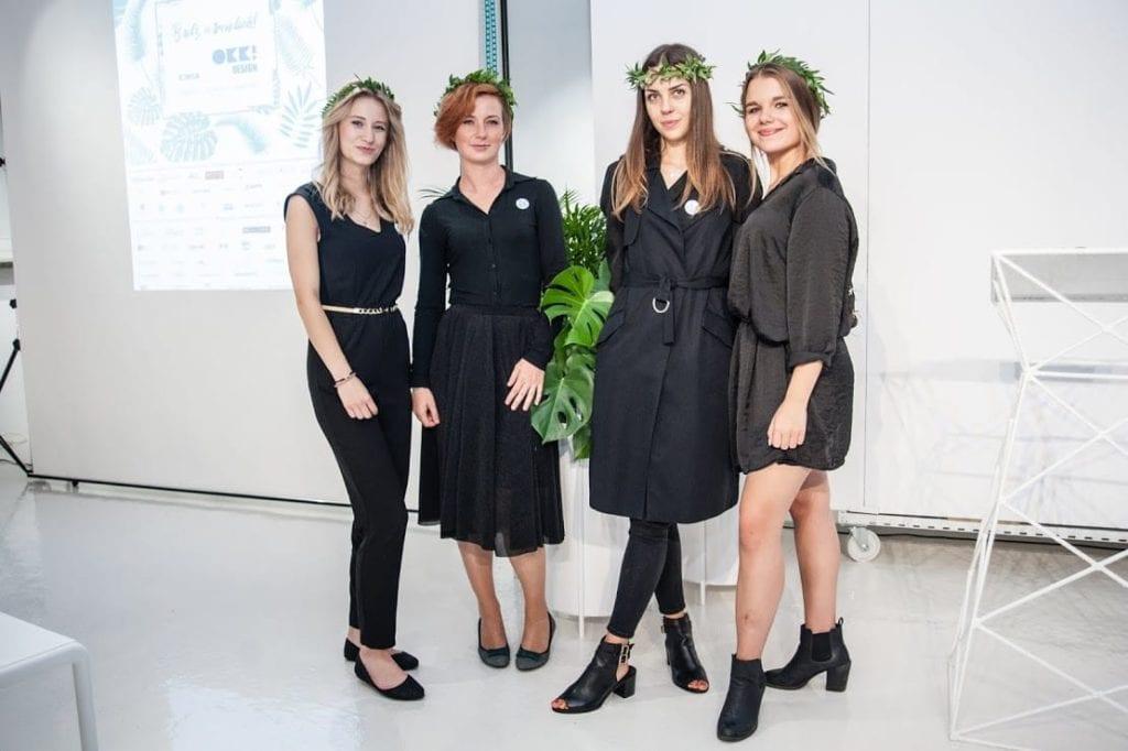 Cztery kobiety podczas 12 edycji OKK! Design w Warszawie