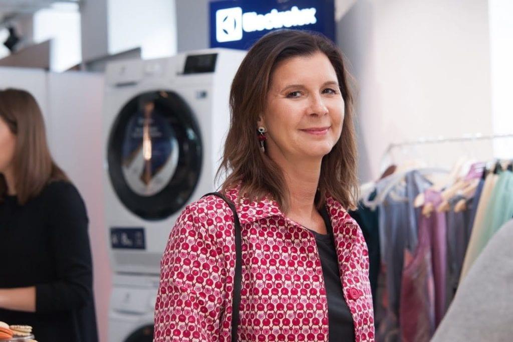 Ewa Mierzejewska biorąca udział w 12 edycji OKK! Design w Warszawie