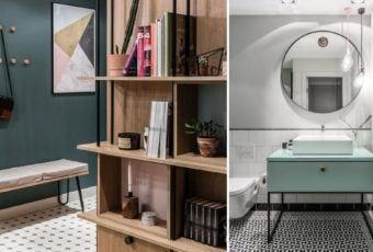 Nowoczesne i przytulne mieszkanie projektu Raca Architekci