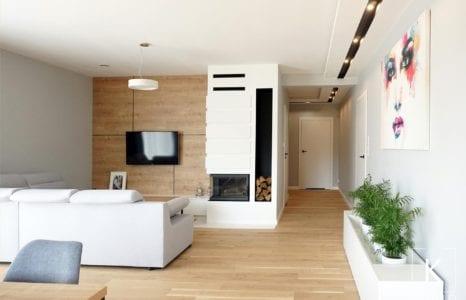 Wnętrza domu w stylu skandynawskim