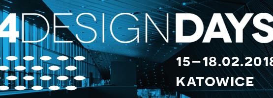 Znakomici goście specjalni 3. edycji 4 Design Days w Katowicach