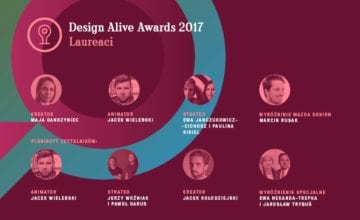 Znamy laureatów Design Alive Awards 2017!