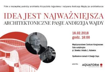 O pasji i architekturze. Przyjaźń Krzysztofa Ingardena i Andrzeja Wajdy