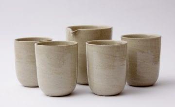 Ręcznie modelowana ceramika od Lush Market