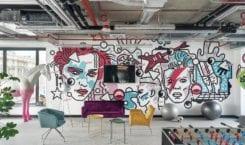 Nowe biura Viacom zaprojektowane przez studio Mood Works
