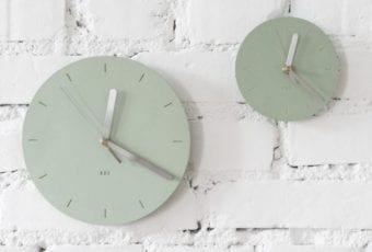 PROJEKT B25: zegar z betonu