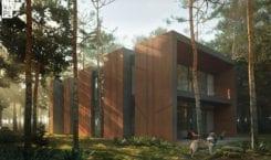 81waw.pl – Dom jak las otoczony sosnami