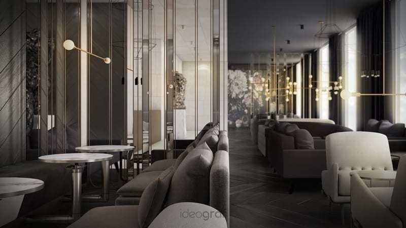 Gdański hotel Grano projektu pracowni Ideograf
