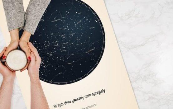 Strellas – gwiezdne plakaty z mapą nieba