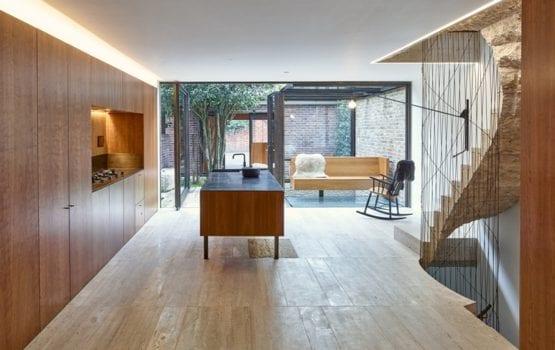 Zabytkowe wnętrze domu w Londynie