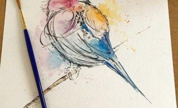 """Seria """"Ptaki"""" od Adriany Bielenik"""