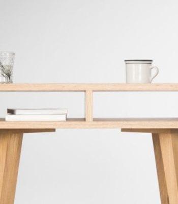 Mo Woodwork – konsola z litego drewna dębowego
