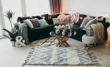 Ręcznie tkane dywany od Studia Elevaar