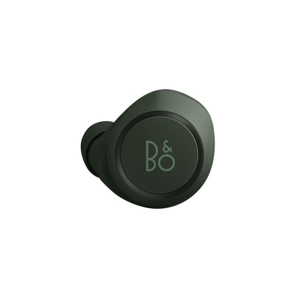Bezprzewodowe słuchawki Beoplay E8 od Bang&Olufsen w kultowym kolorze Racing Green