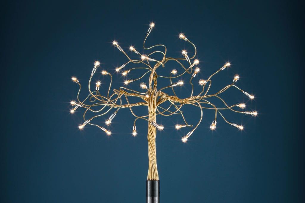 Lampa marki Catellani & Smith model Albero della Luce
