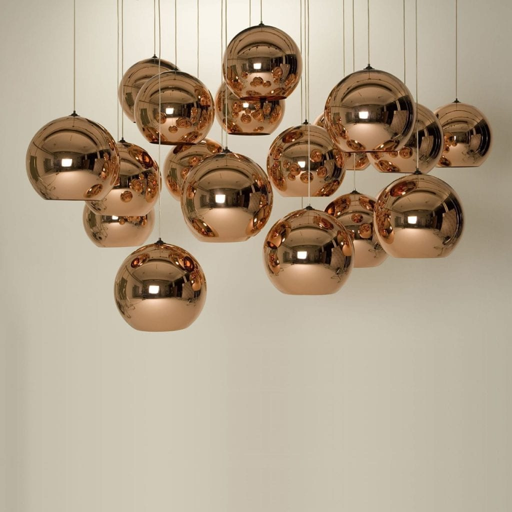 Copper Shade projektu Tom Dixon (Foto. materiały prasowe)