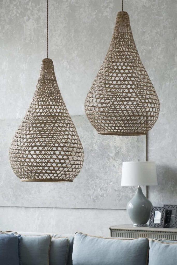Kolekcja mebli od Miloo Home inspirowana Wabi Sabi - lampy