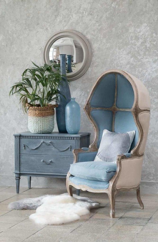 Kolekcja mebli od Miloo Home inspirowana Wabi Sabi - fotel