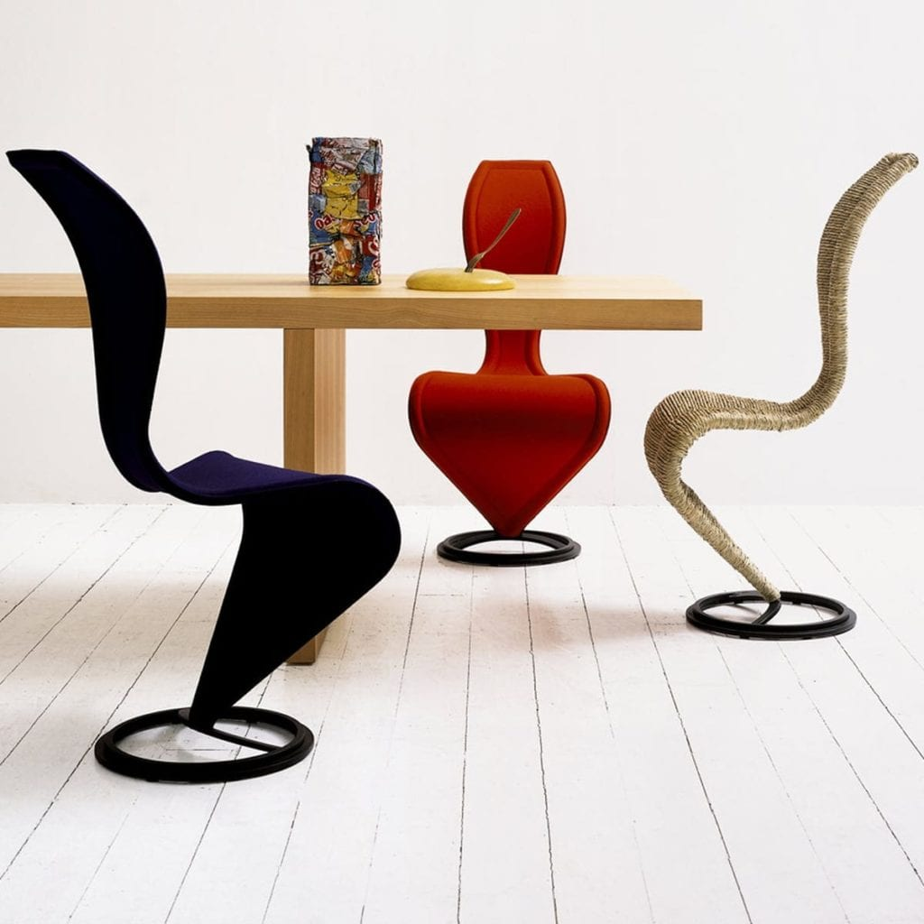 Krzesło S-Chair projektu Tom Dixon (Foto. materiały prasowe)