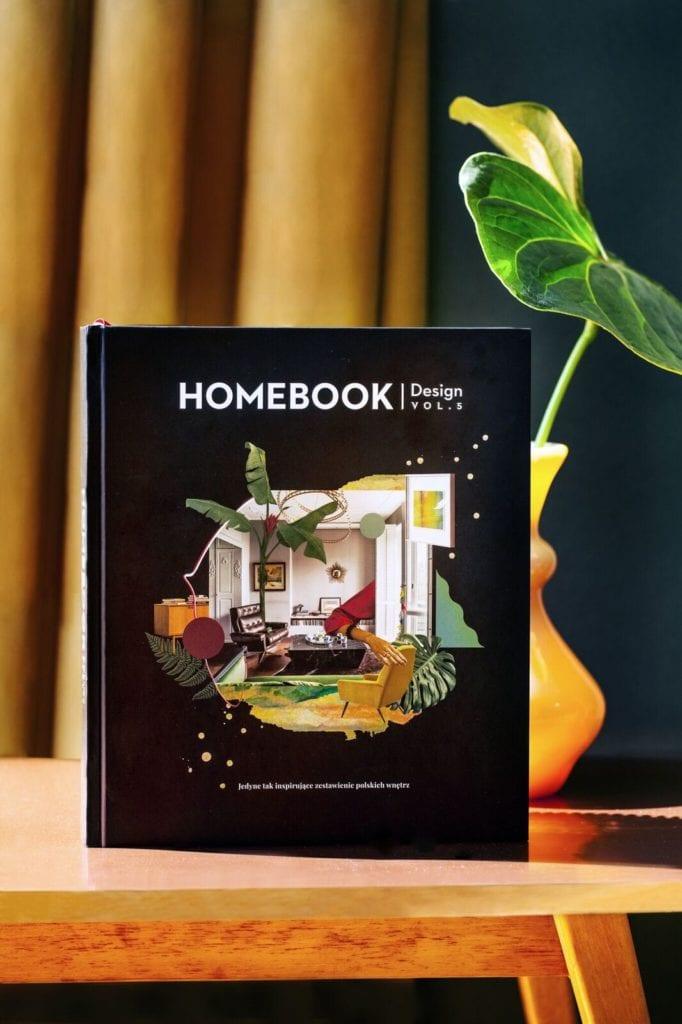 Album Homebook Design vol. 5 - polskie wnętrza, polskie projekty, polskie realizacje, polscy architekci