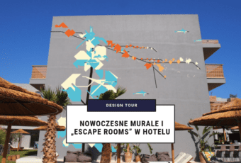 "Design Tour: Nowoczesne murale i ""escape rooms"" w hotelu"