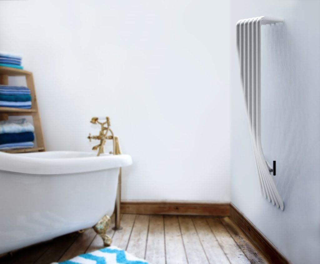 Grzejnik Koliber od polskiej marki Luxrad w łazience