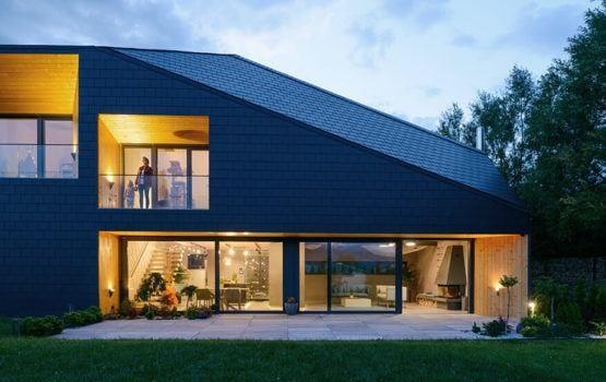 Czarna Skała – nietypowy dom od MUS ARCHITECTS