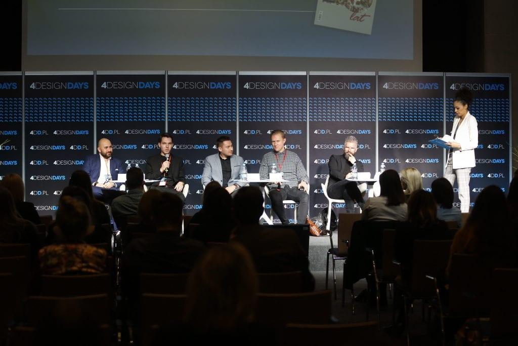 Debata w ramach 4 design days (Międzynarodowe Centrum Kongresowe w Katowicach i Hala Spodek)