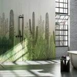Wodoodporna tapeta z kolekcji GlamFusion od Glamora dostępna w Dekorian Home. Tapeta w kaktusy.