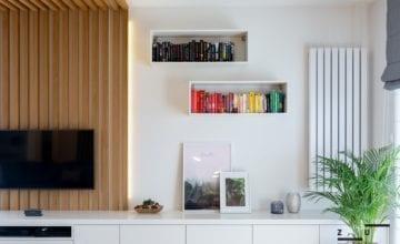Mieszkanie w stylu hygge od ZU projektuje