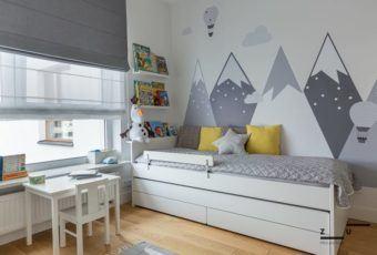 Warszawskie mieszkanie w stylu hygge od ZU projektuje