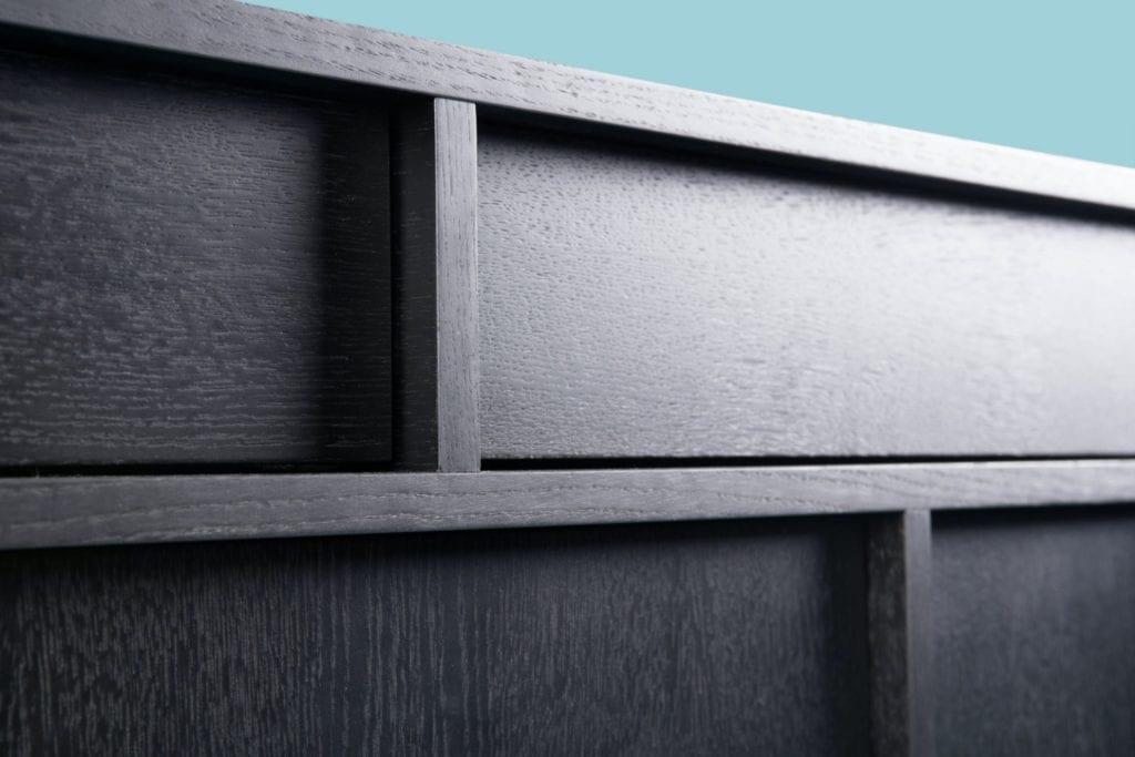 Kolekcja Umami, czyli Phormy i design inspirowany Japonią - komoda Umami w kolorze czarnym