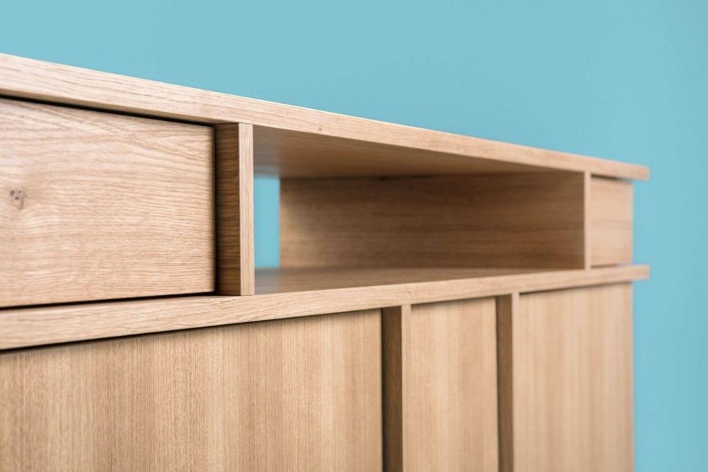 Kolekcja Umami, czyli Phormy i design inspirowany Japonią - półka w komodzie Umami od Phormy