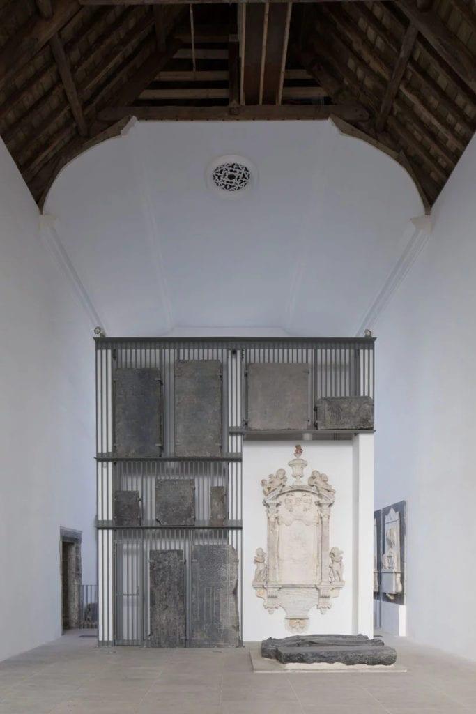 Muzeum w kościele projektu McCullough Mulvin Architects