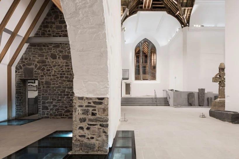 McCullough Mulvin Architects i projekt muzeum w kościele