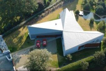 FAN-CY-HOUSE, czyli dom zainspirowany wiatrakiem