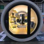 Mieszkanie w rurze OPod Tube Housing projektu James Law Cybertecture