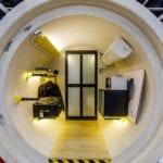 James Law Cybertecture i mieszkanie w rurze OPod Tube Housing
