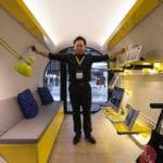 OPod Tube Housing projektu James Law Cybertecture w Hongkongu