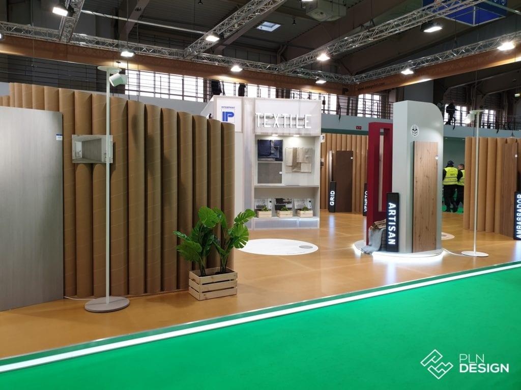 Stoisko Interprint na Arena Design 2019