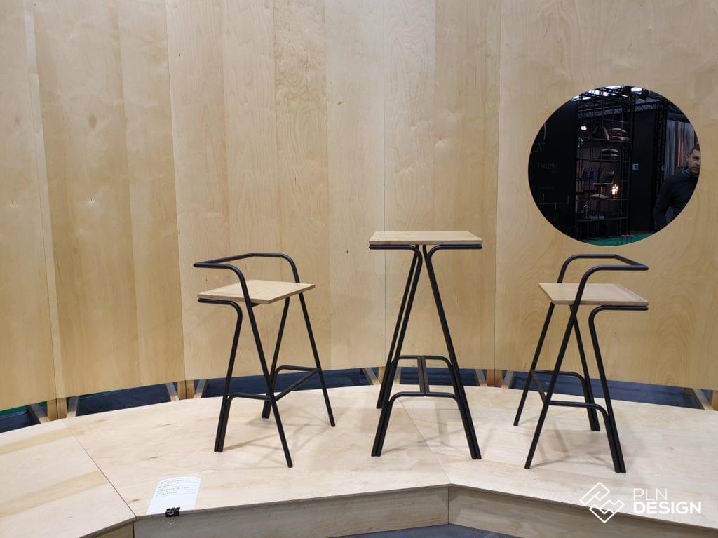 Taborety na wystawie TOP DESIGN award na Arena Design 2019