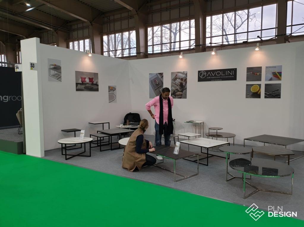 Tavolini - stoliki inspirowane nowoczesnością na wydarzeniu Arena Design 2019