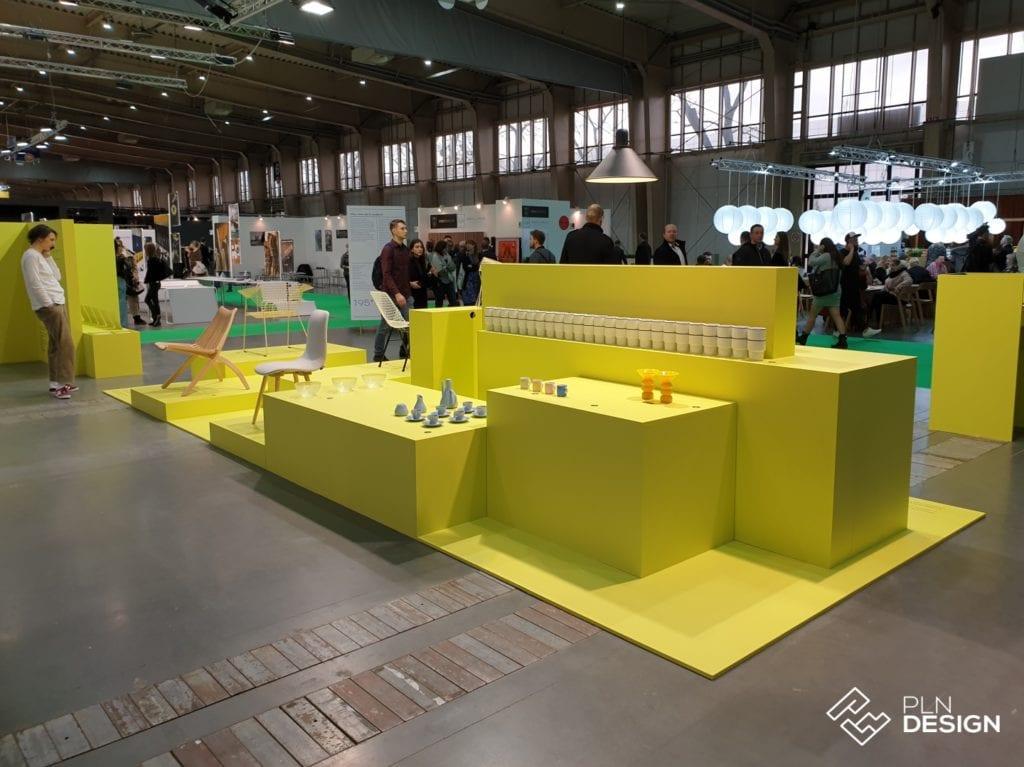 Żółta wystawa 195x: How old is modern podczas Arena Design 2019