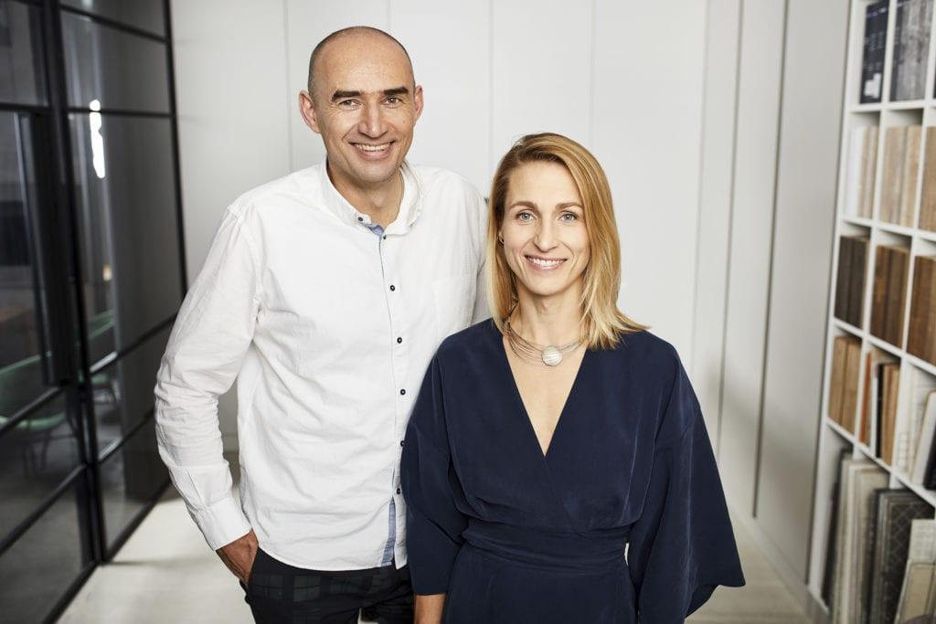 Właściciele HOLA Grupa Projektowa Monika i Adam Bronikowscy