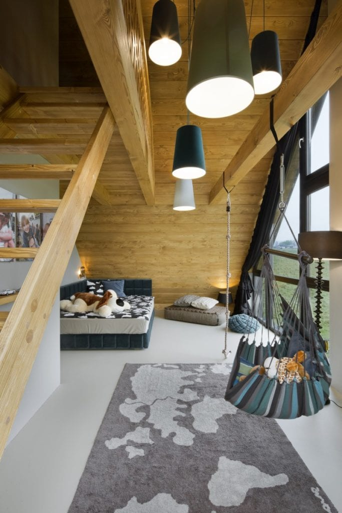 Wnętrza domu Pasterska Chata projektu HOLA Grupa Projektowa