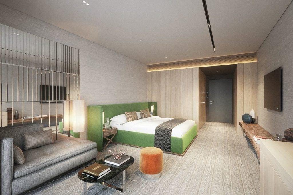 Katarzyna Kraszewska Architektura Wnętrz - Hotel Radisson Blu w sercu Gór Izerskich - pokój w hotelu